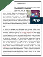 DESCUBRIMIENTO  Y CONQUISTA G 2