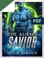 5 The Alien's Savior by Ella Maven