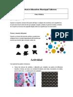 Guía de trabajo Artística 5