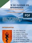 EL ARTE DE CUIDAR EN ENFERMERIA