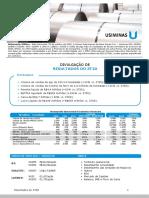 Press Release Do Resultado Da Usiminas Do 3t20