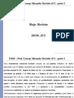EMII - Aula 17 - Revisão AV2