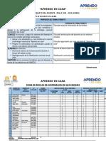 FICHA DE RECOJO DE INFORMACION DE LAS FAMILIAS-5to. A-04-05 DPCC