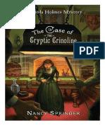 Nancy Springer - Enola Holmes. El Caso de la Crinolina Críptica