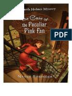 Nancy Springer - Enola Holmes. El Caso del Peculiar Abanico Rosa