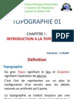 Chap 1 - Introduction à la Topographie