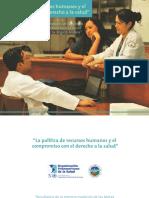 La Política de Recursos Humanos y El Compromiso Con El Derecho