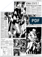 The Gazette sports section on Sept. 14, 1986