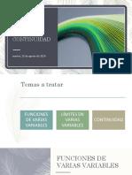 funciones Varias Variables limite continuidad.pdf
