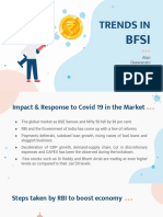 Trends in BFSI Sector after COVID-19 in India