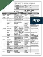 CHECK LIST DE VERIFICACION PROYECTO MULTIFAMILIAR HASTA 19 PISOS RNE