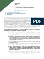 Mantenibilidad -Confiabilidad - Disponibilidad - Seguridad