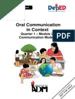 Oral-communication11 q1 Module2 08082020