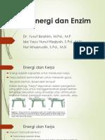 1. Energi dan enzym