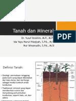 2. Tanah dan mineral