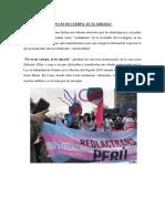 Reportaje - Transexuales en Lima