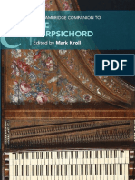 The Cambridge Companion to the Harpsichord by Kroll, Mark