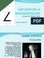 LOS USOS DE LA ARGUMENTACION DE TOULMIN
