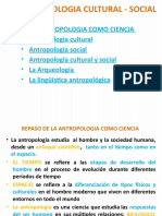 ANTROPOLOGIA CULTURAL - SOCIAL