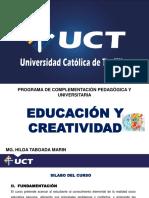 DIAPOSITIVA DE CREATIVIDAD IIUNIDAD - Mg. Hilda Milagros Taboada Marin- CONCLUIDO OK2020.pdf