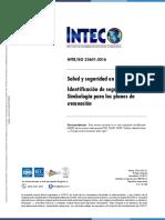 INTE ISO 23601_2016_Croquis para planes de emergencia