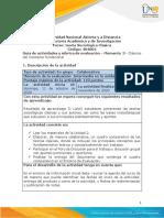 Guía de actividades y Rúbrica de evaluación - Unidad 2 - Momento 3 - Clásicos del momento fundacional