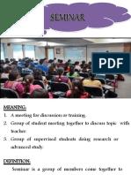 18. Seminar