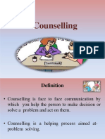 Counselling-GATHER Approach