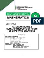 Final Math9 Slk q1w2 Slacasandile
