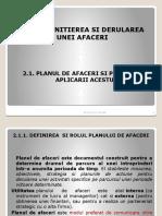 Cap II-PLANUL DE AFACERI-