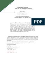 Urbanisation_Patterns_European_vs_Less_Developed_Countries