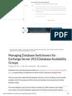 Exchange 2013 DAG_ Database Switchover