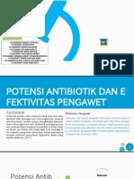 KELOMPOK 7 ANALISIS MUTU PENGUJIAN POTENSI ANTIBIOTIK DAN PENGKAJIAN EFEKTIVITAS PENGAWET.pptx