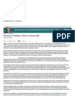 Richard Tomkins_ Style is what sells - FT
