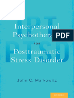 Markowitz - Interpersonal psychotherapy for posttraumatic stress disorder (2017)