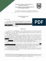 ACT DE CONSTATARE ANI în privința vicedirectorului Spitalului Raional Anenii Noi