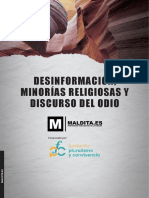 DESINFORMACIÓN, MINORÍAS RELIGIOSAS Y DISCURSO DEL ODIO
