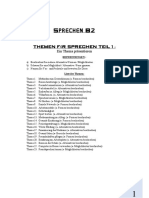Taf THEMEN SPRECHEN B2 TEIL 1