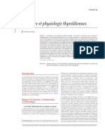 2.Structure et physiologie thyroïdiennes