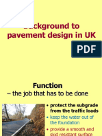 Background to pavement design in UK,Jan15