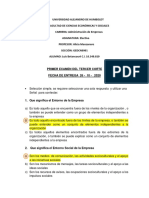 PRIMER EXAMEN DEL TERCER CORTE - ELECTIVA UADH