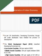 Basic Characteristics of Indian Economy (1).pptx