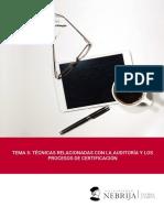TEMA 5.- TÉCNICAS RELACIONADAS CON LA AUDITORÍA Y LOS PROCESOS DE CERTIFICACIÓN. 2020(1).pdf