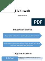 Ukhuwah dalam Islam.pptx