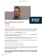 Welcome - How to Become a Sex God