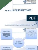 Textos Descriptivos 2011