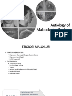 Aetiology of Malocclusion Review-Erina Fatmala,drg