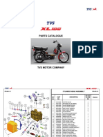 TVS XL 100 Parts Catalogue