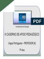 7AnoLPortuguesaProfessor3CadernoNovo