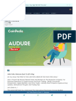 Coinpedia Org Earning Site Audure Review
